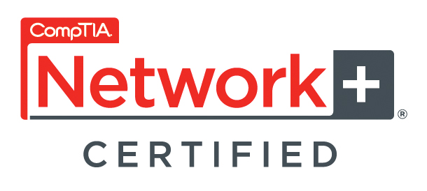 Picture of CompTia Network+ certified computer technician
