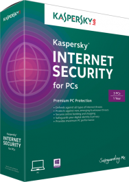 Picture of Kasperksy Internet Security 2014 box