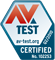 Picture of AV Test Certified Logo